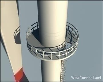 wind turbin 3d model 3ds max obj 99787