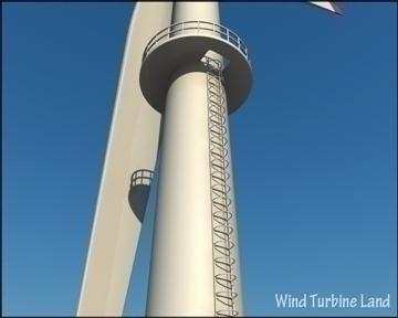 wind turbin 3d model 3ds max obj 99788