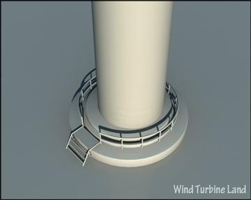 wind turbin 3d model 3ds max obj 99789
