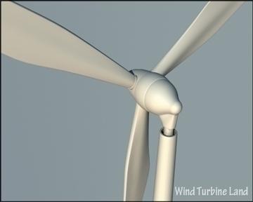 wind turbin 3d model 3ds max obj 99791