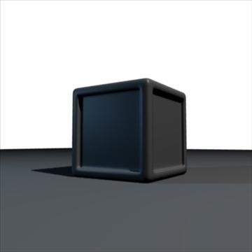 kuti e mrekullueshme 3d model 3ds përzierje obj 108044