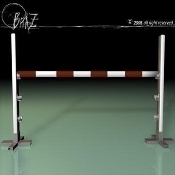 wood jumps 3d model 3ds dxf c4d obj 87954