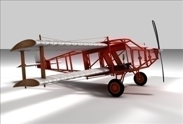 braća Wright avion 3d model 3ds c4d tekstura 86894