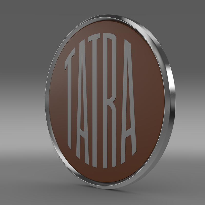 tatra logo 3d model 3ds max fbx c4d lwo ma mb hrc xsi obj 162807