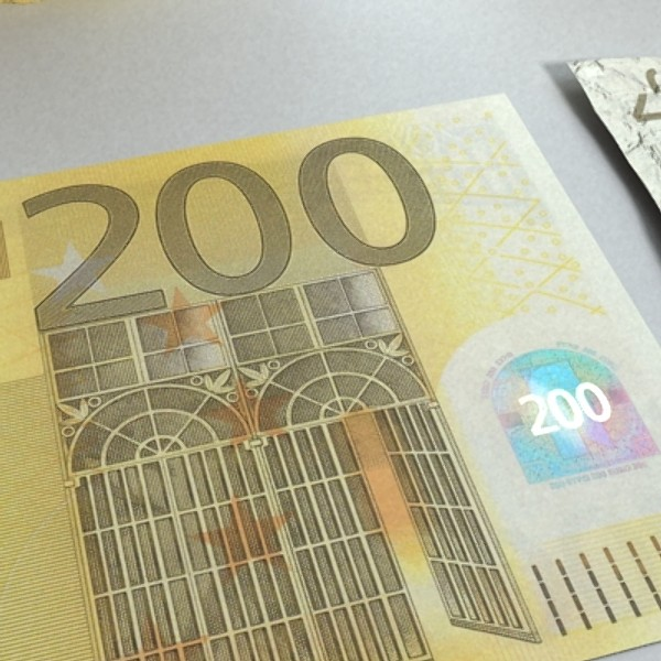 200 euro banknote 3d model 3ds max obj 129445