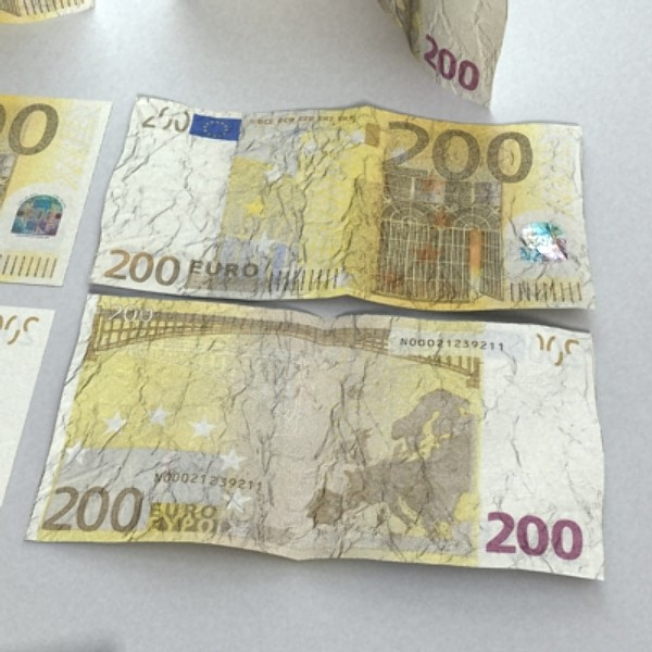 200 euro banknote 3d model 3ds max obj 129447