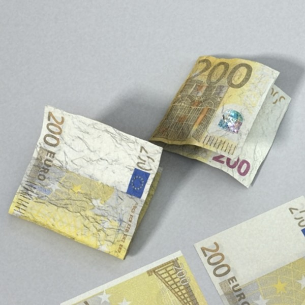 200 euro banknote 3d model 3ds max obj 129449