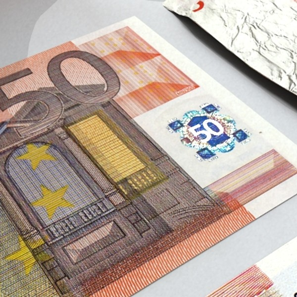 50 euro paper money 3d model 3ds max obj 129419