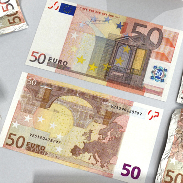 50 euro paper money 3d model 3ds max obj 129424