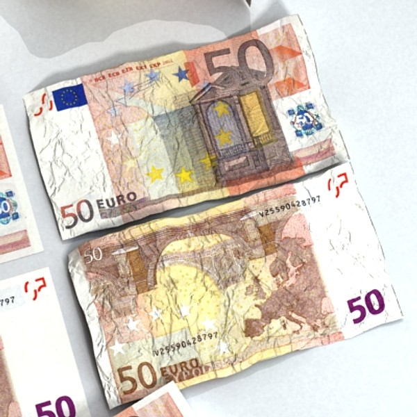 50 euro paper money 3d model 3ds max obj 129425