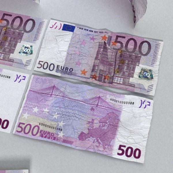 500 euros banknote 3d model 3ds max obj 129472