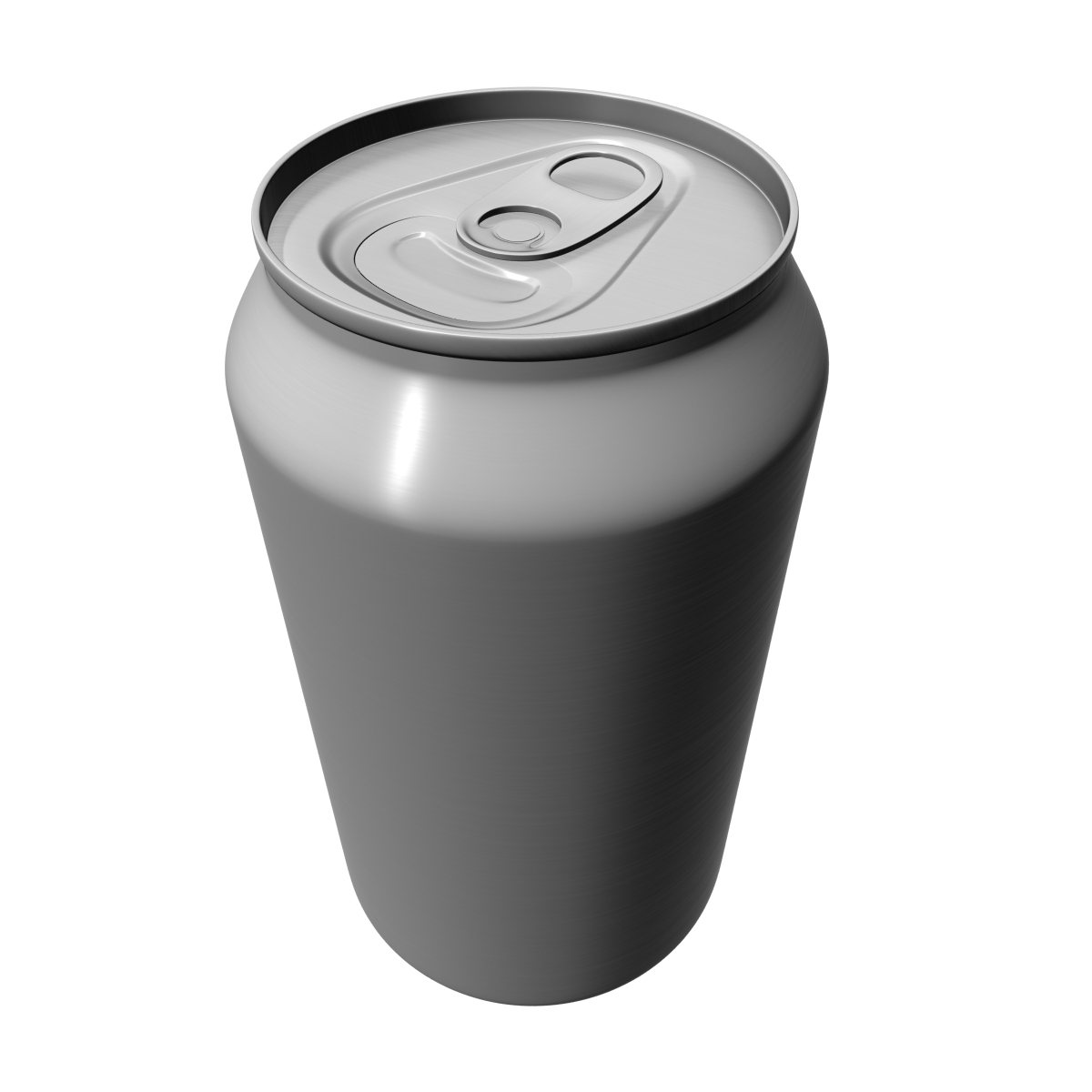 aluminium can 3d model ma mb 125929