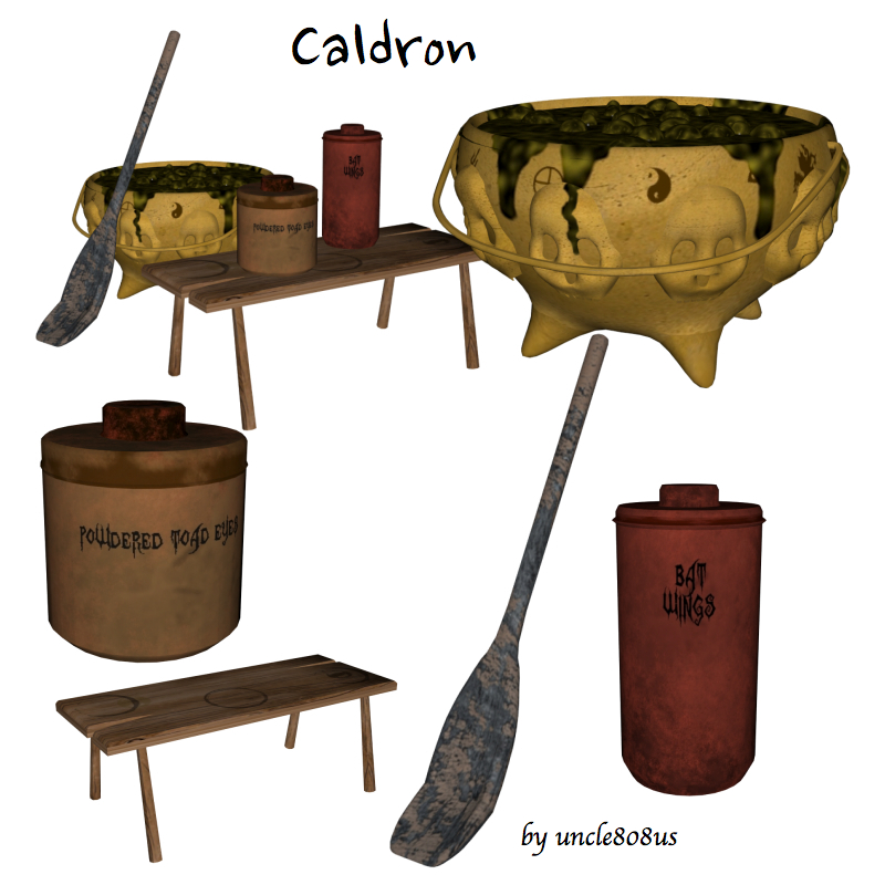 caldron 3d model obj 164668