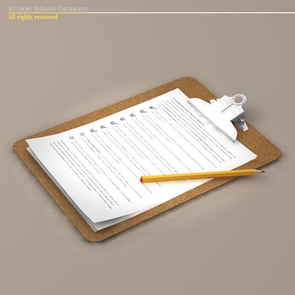 clipboard – #2 3d model 3ds dxf fbx c4d dae obj 118945