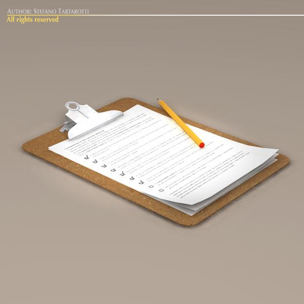clipboard – #2 3d model 3ds dxf fbx c4d dae obj 118947