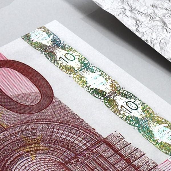 european paper money collection 3d model 3ds max obj 129478