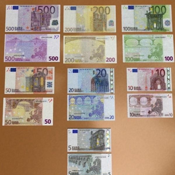 european paper money collection 3d model 3ds max obj 129492