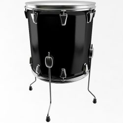 Floor Tom Drum ( 113.32KB jpg by Plutonius )