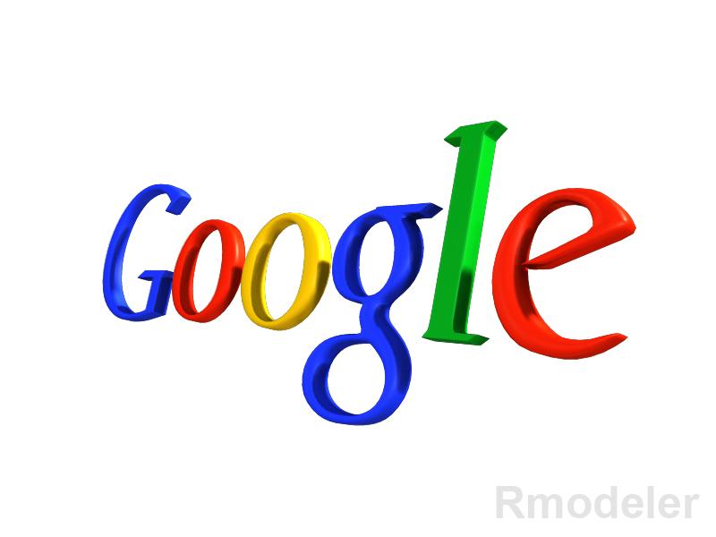 google 3d logo 3d model dae ma mb obj 118778