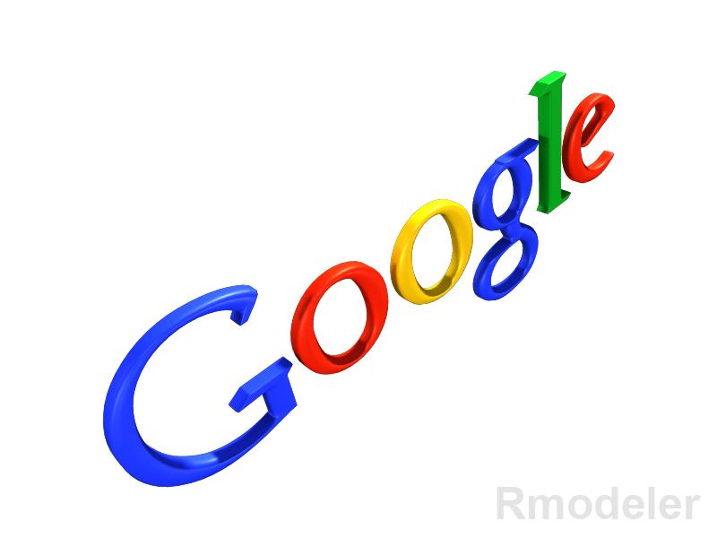 google 3d logo 3d model dae ma mb obj 118779