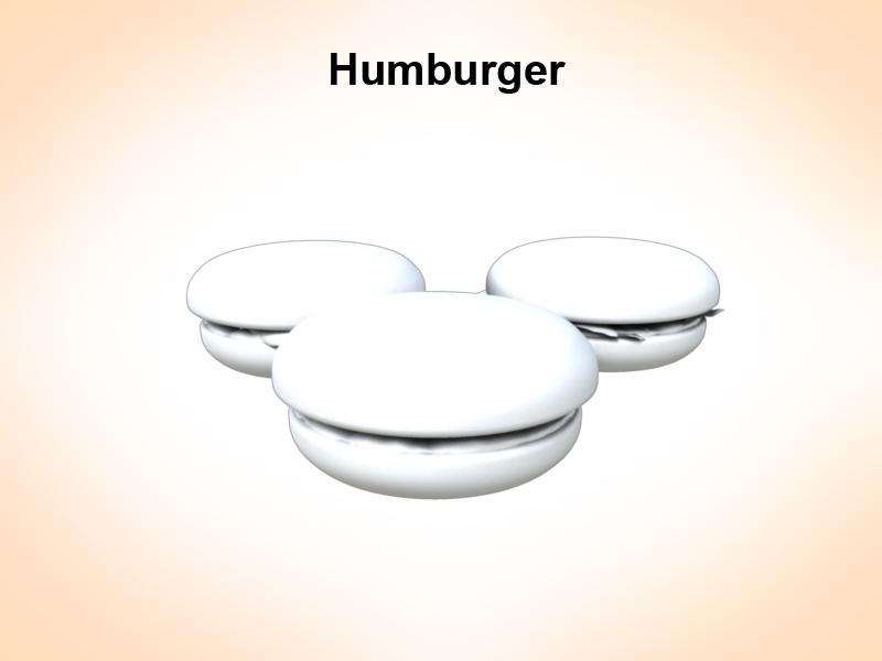 humburger 3d model 3ds fbx c4d lwo ma mb hrc xsi obj 124110