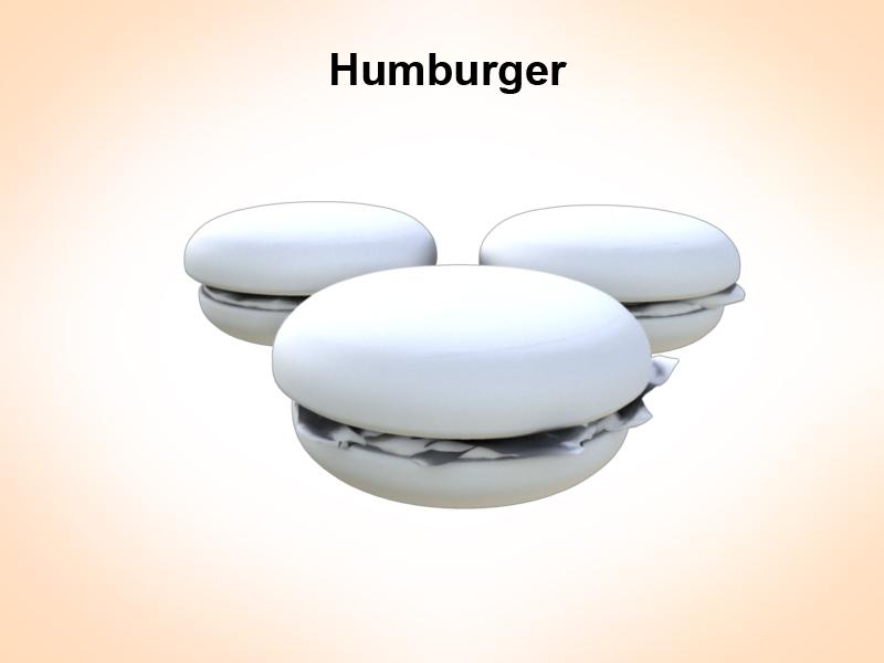 humburger 3d model 3ds fbx c4d lwo ma mb hrc xsi obj 124111