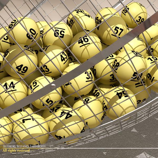 lottery cage 3d model 3ds dxf fbx c4d dae obj 119246