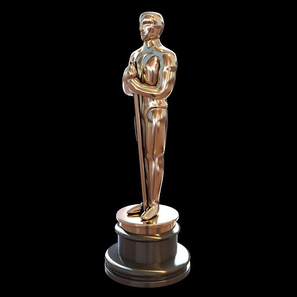 Oscar Academy Award low poly