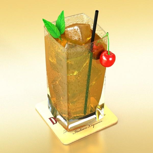 photorealistic detailed cocktail 3d model 3ds max fbx obj 129357
