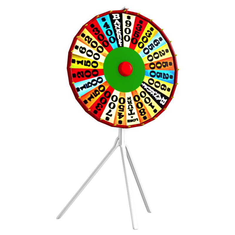prize wheel 3d model obj 160765