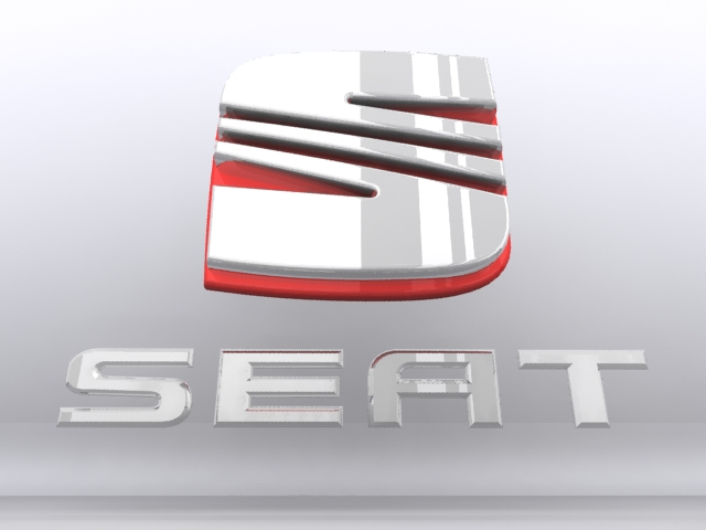 seat logo car 3d model max 152475