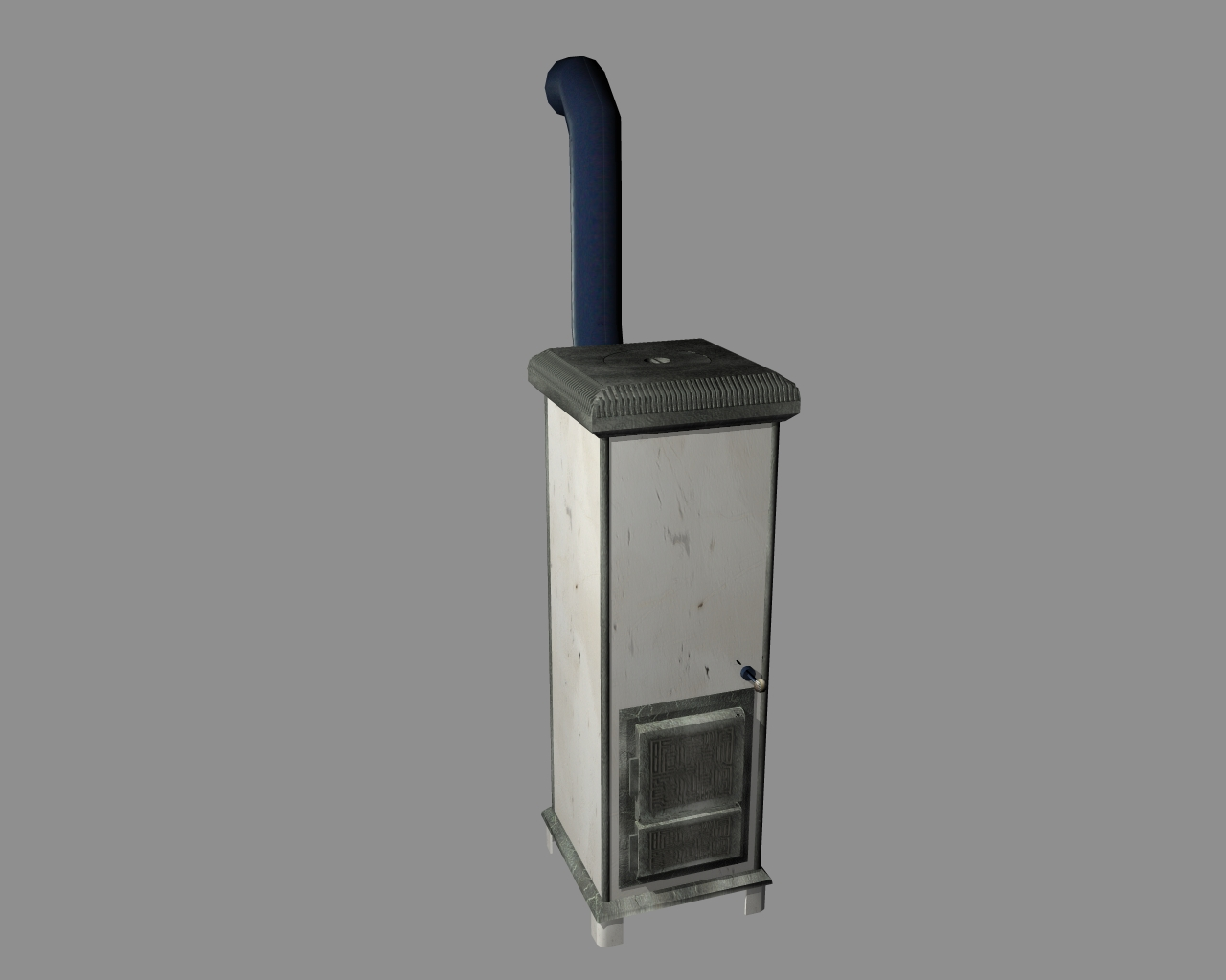 wood-burning stove 3d model 3ds 165893