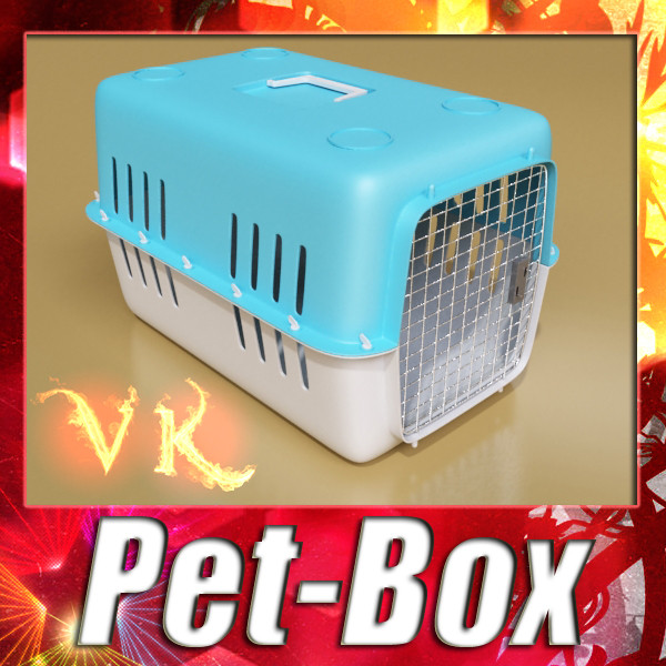 pet carrier mataas detalyadong 3d modelo 3ds max fbx 131700