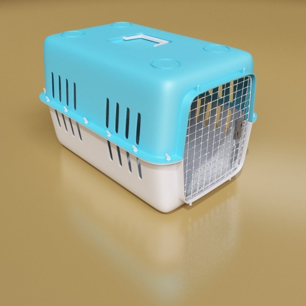 pet carrier high detailed 3d model 3ds max fbx 131701