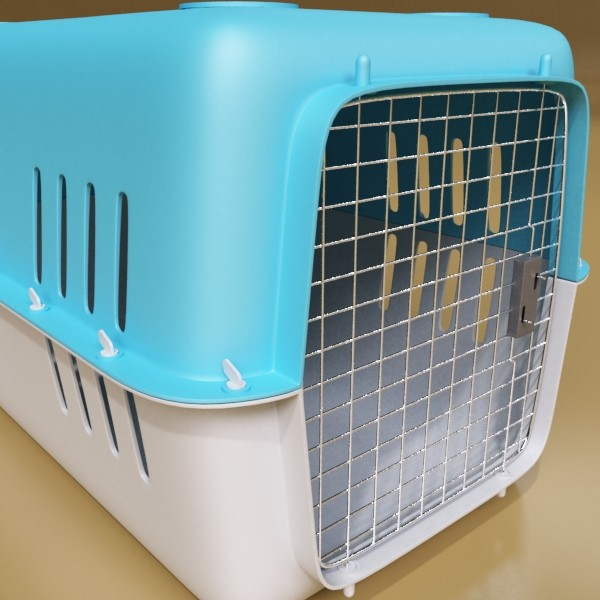 pet carrier high detailed 3d model 3ds max fbx 131703