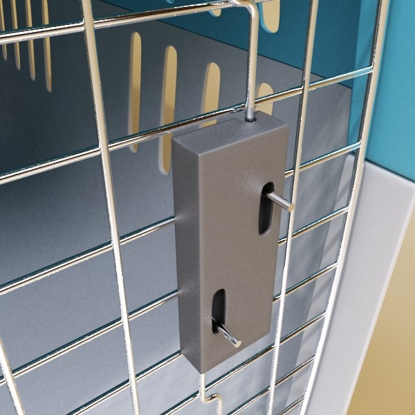 pet carrier high detailed 3d model 3ds max fbx 131705