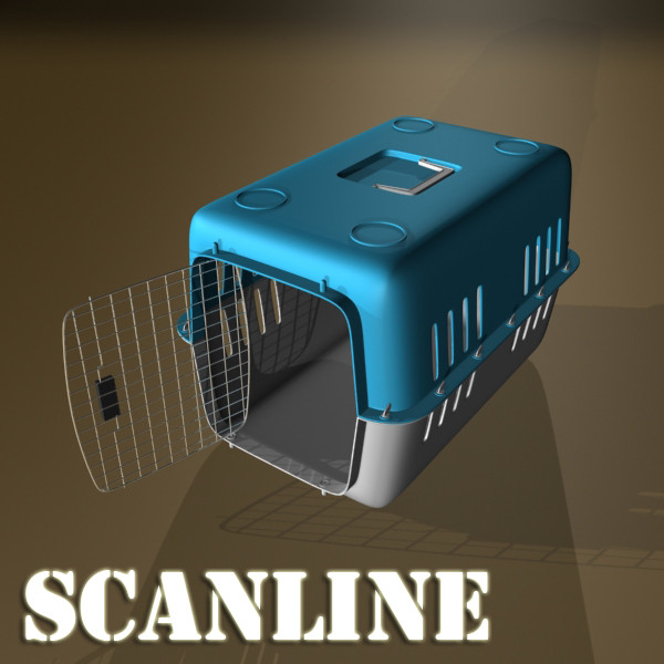 pet carrier high detailed 3d model 3ds max fbx 131709