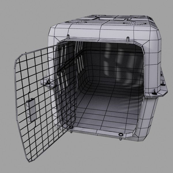 pet carrier high detailed 3d model 3ds max fbx 131710