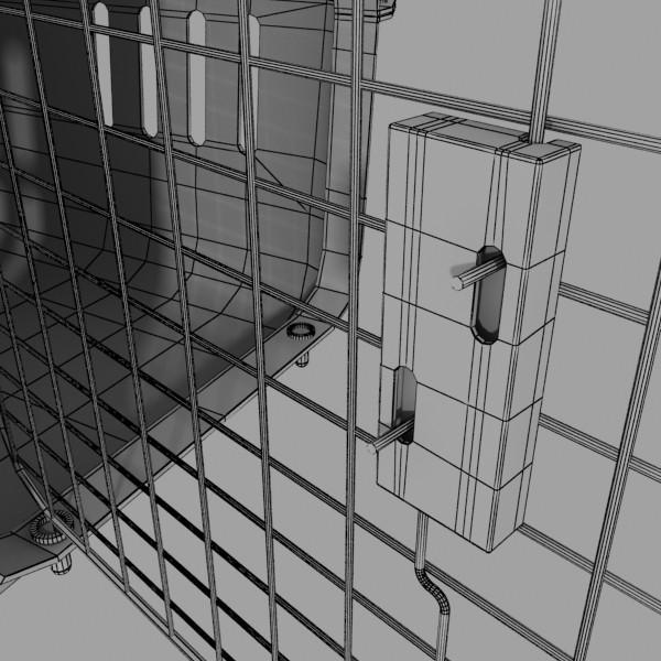 pet carrier high detailed 3d model 3ds max fbx 131713
