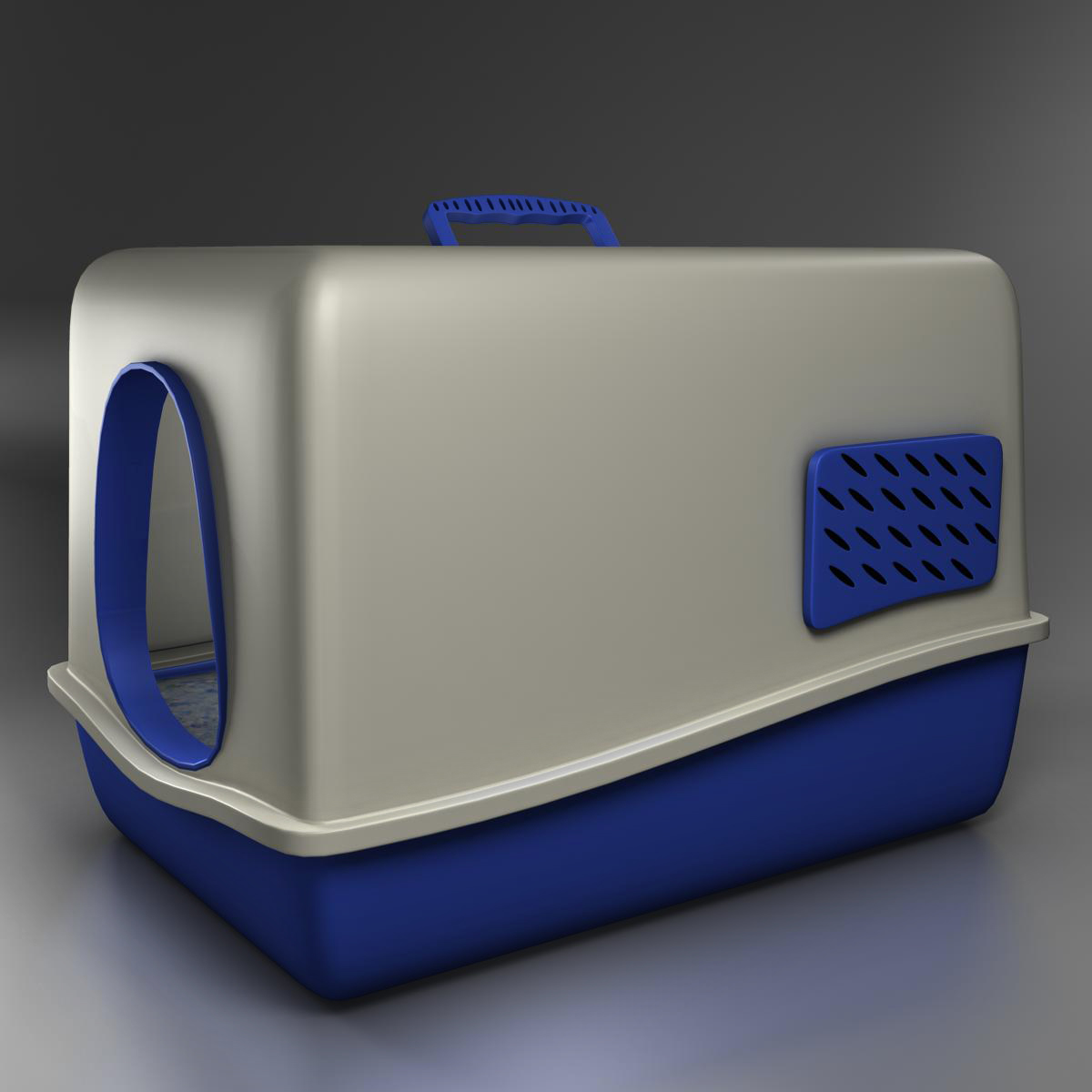 toilet cat 3d model 3ds max fbx c4d ma mb obj 159440
