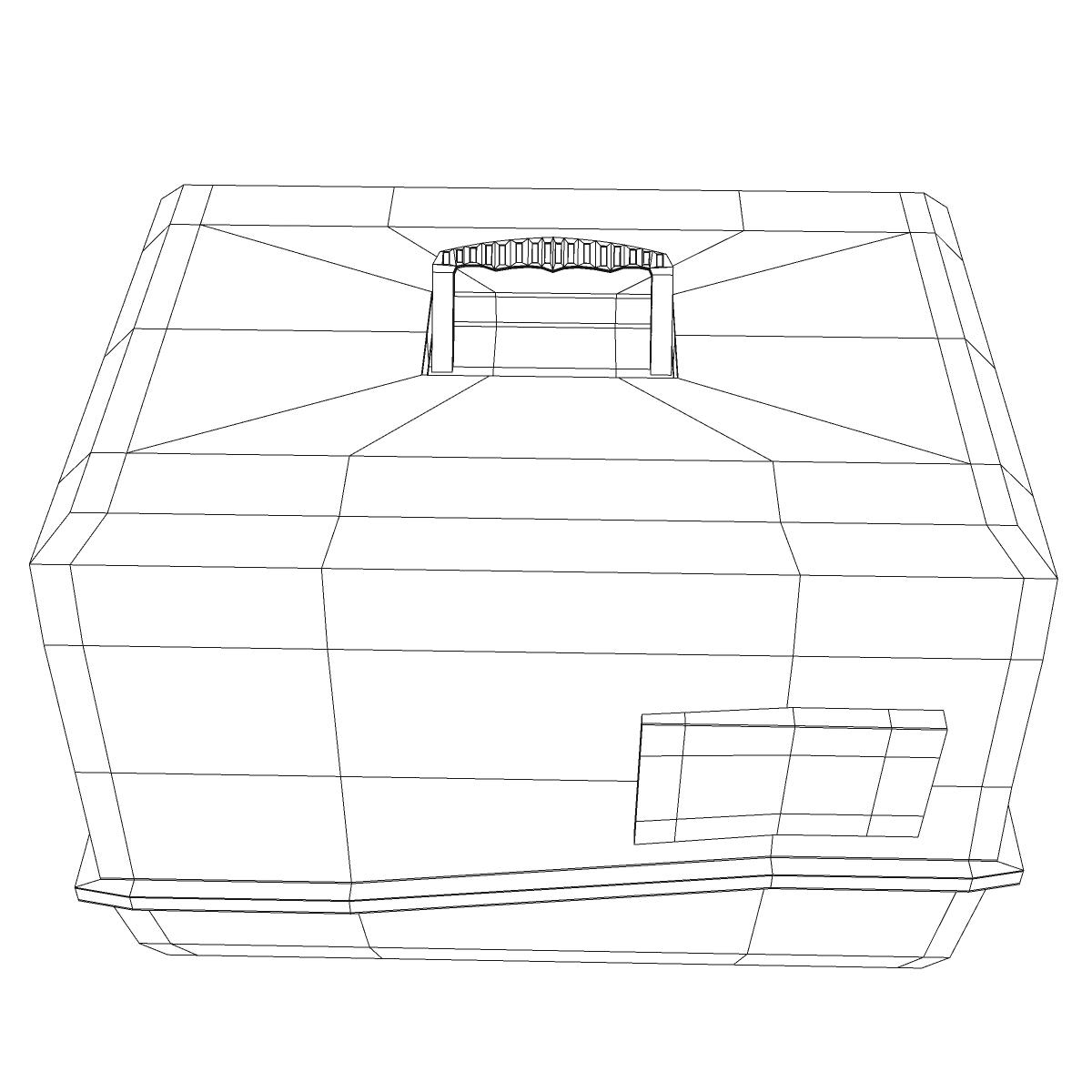 toilet cat 3d model 3ds max fbx c4d ma mb obj 159448