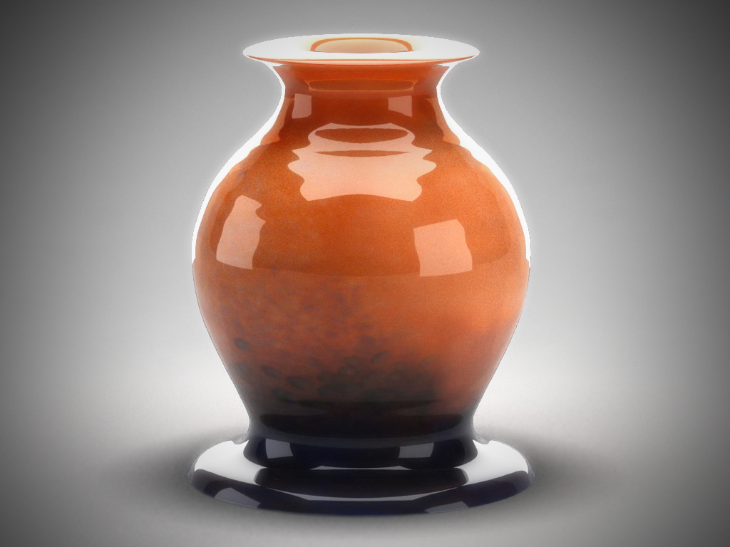 glass decorative vase 01 3d model max 147580