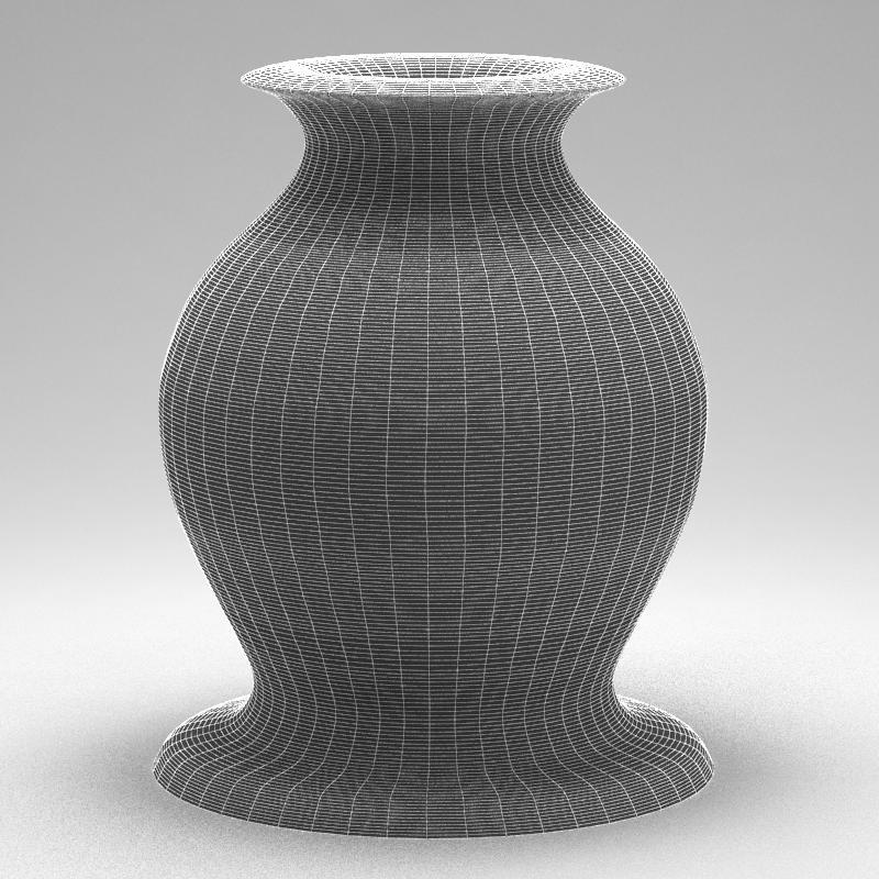 glass decorative vase 01 3d model max 147584