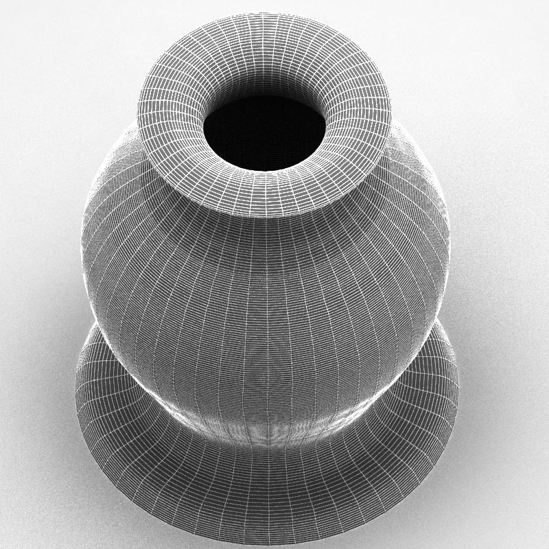 glass decorative vase 01 3d model max 147585