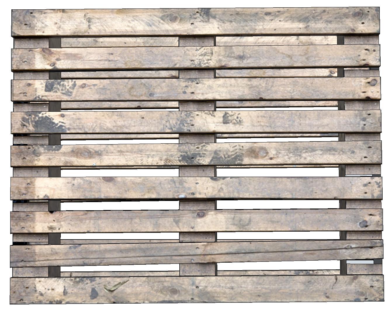 wooden pallet 3d model fbx 131219