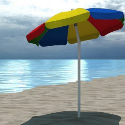 4 Beach umbrellas and beach environment     ( 195.04KB jpg by marbelar )