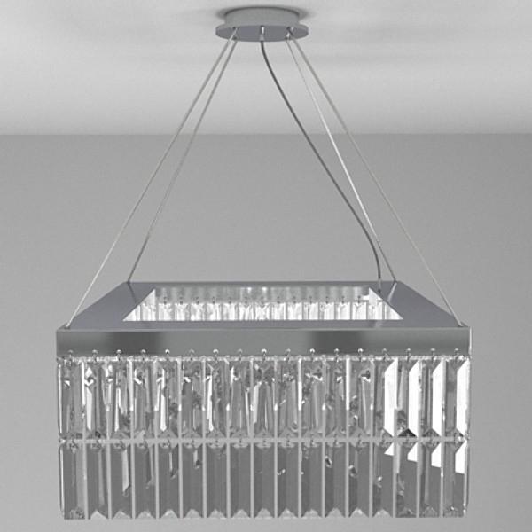 contemporary chandelier 1 3d model 3ds fbx skp obj 115197
