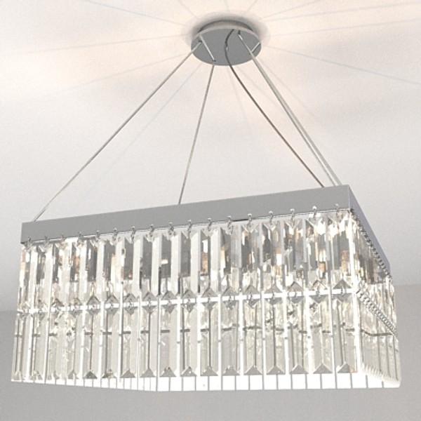 contemporary chandelier 1 3d model 3ds fbx skp obj 115198