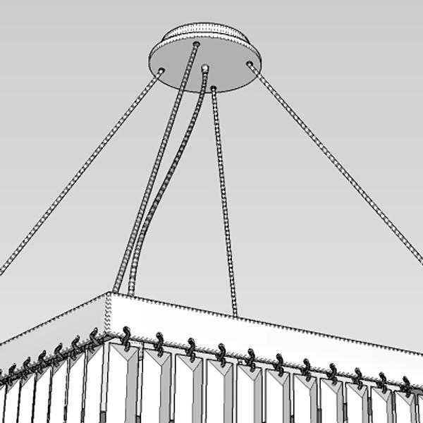 contemporary chandelier 1 3d model 3ds fbx skp obj 115200