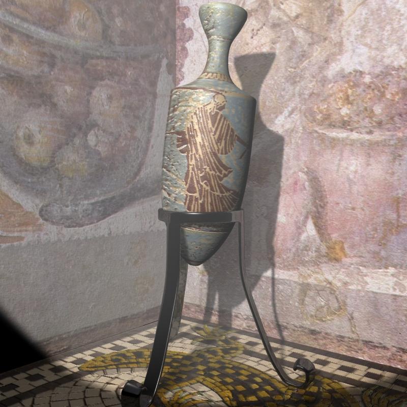 romiešu amphora 3d modelis 3ds max 119381